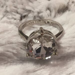 Ann Taylor Crystal Ring Size 6